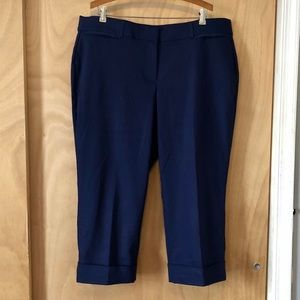 Lane Bryant The Ashley Cropped Cuffed Pants